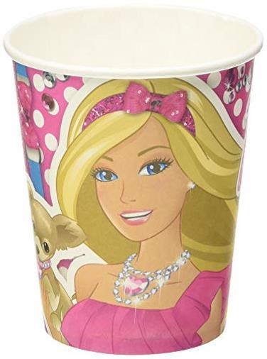 8 Bicchieri Barbie