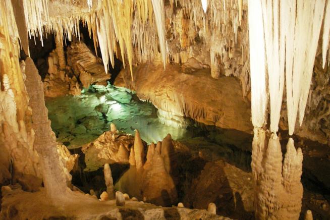 grotte di Stiffe, Abruzzo, Italia
