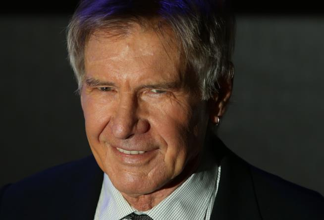 Un ritratto fotografico di Harrison Ford
