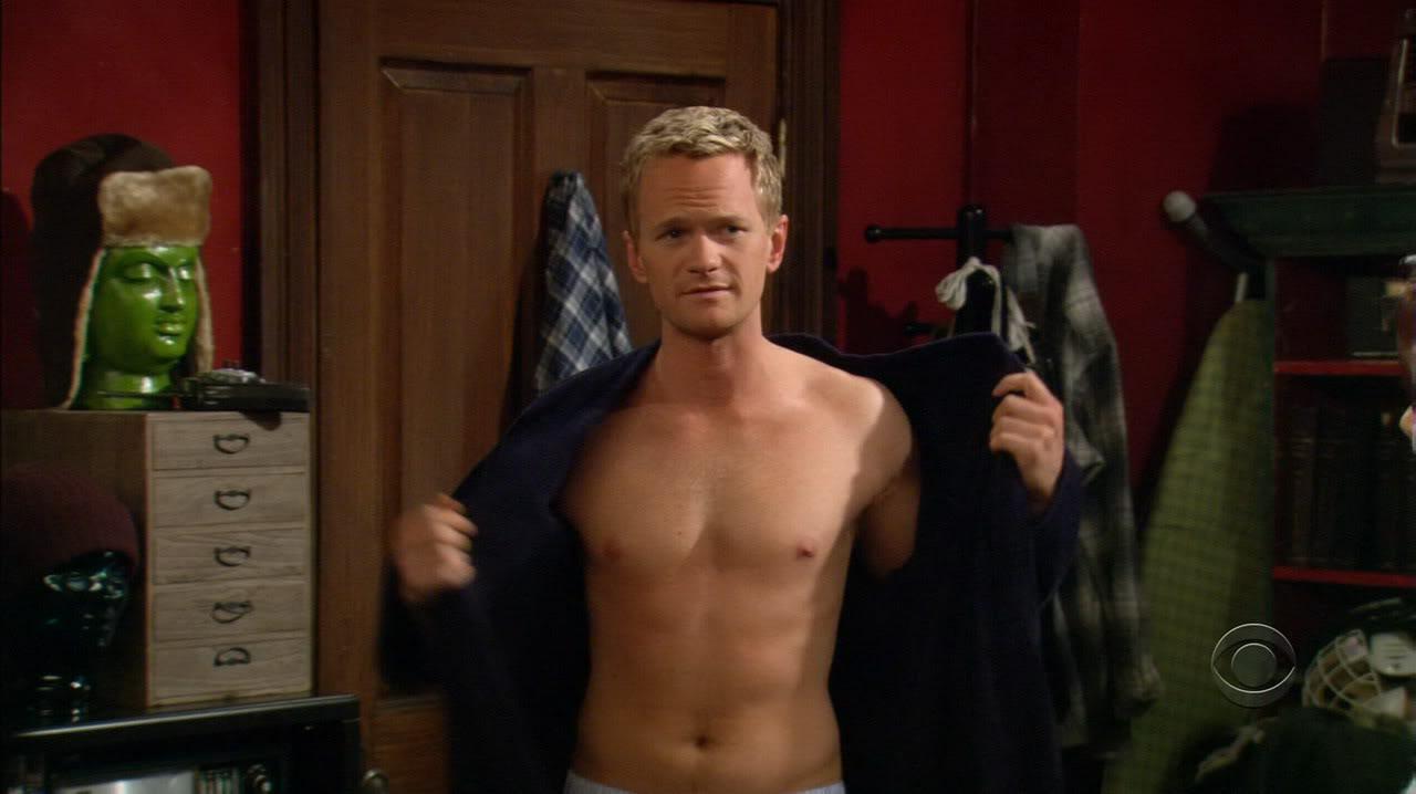 Neil Patrick Harris, padre di due gemelli, in una scena della serie TV How I Met Your Mother