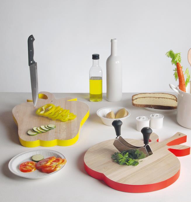 Regali per la casa: taglieri Vegetable di Seletti