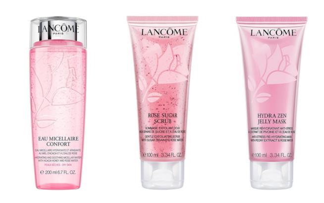 La nuova linea di skincare Pink Animation Lancôme