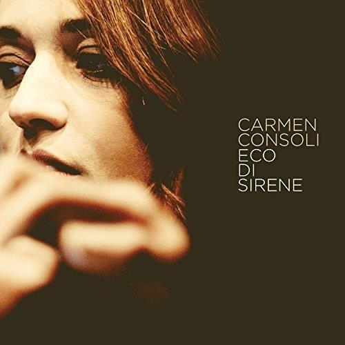 Il volto di Carmen Consoli sulla copertina di Eco di sirene