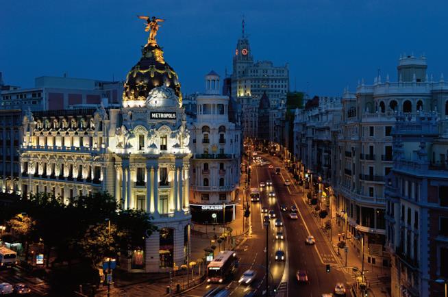 Madrid di notte