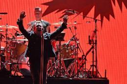 U2 durante il The Joshua Tree Tour 2017