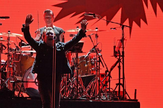 U2 durante il The Joshua Tree Tour 2017