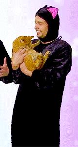 James Franco in versione gatto