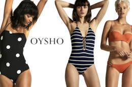 Modelle con costumi da bagno Oysho per estate 2018