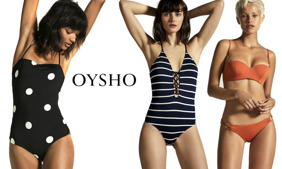 5cee58347823 Modelle con costumi da bagno Oysho per estate 2018