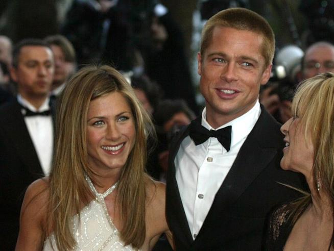 Brad Pitt e Jennifer Aniston sulla Croisette