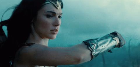 Il braccio di Diana in Wonder Woman
