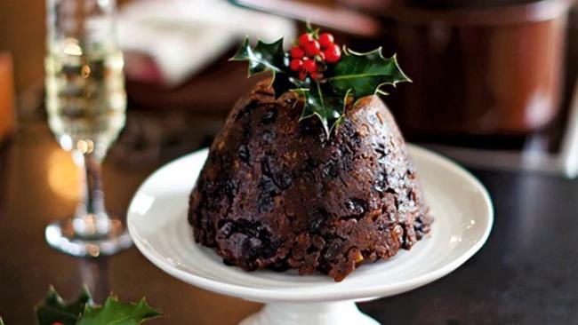 Christmas pudding americano e inglese