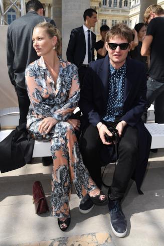 Il conte Nikolai von Bismark e Kate Moss