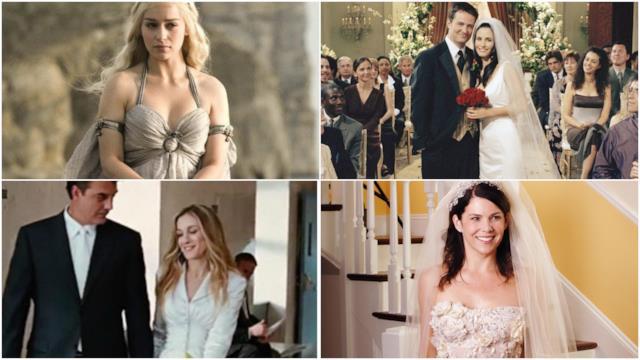 Gli abiti da sposa celebri più belli delle serie tv e dove comprarli, da Sex and the City a Friends