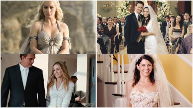 217a2d6205ce Abiti da sposa famosi  i più belli delle serie tv e dove comprarli