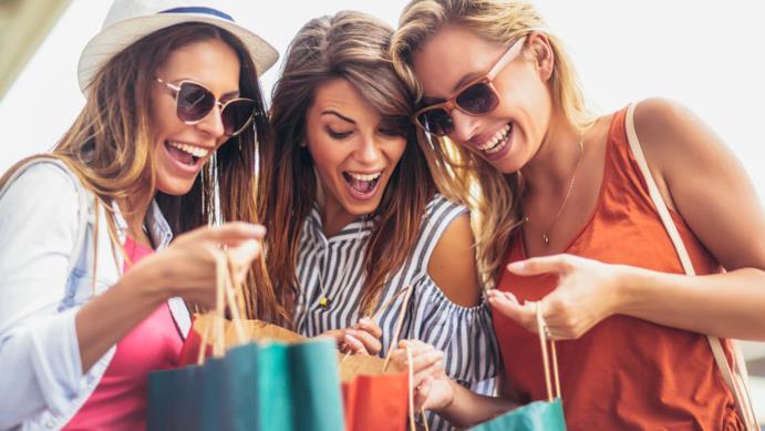 Shopping con le amiche