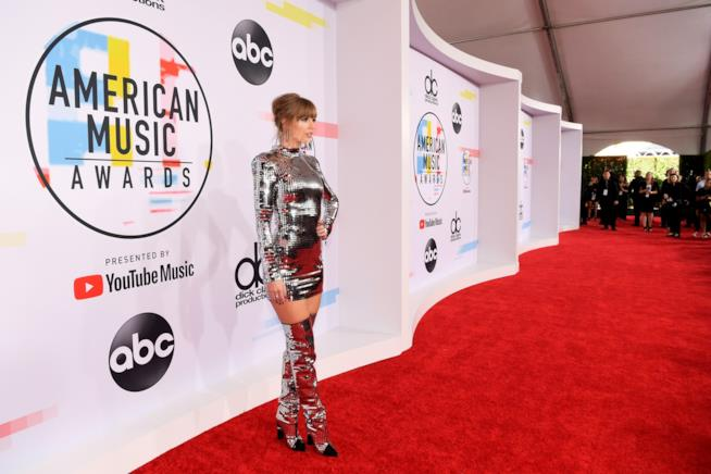 Taylor Swift agli American Music Awards 2018