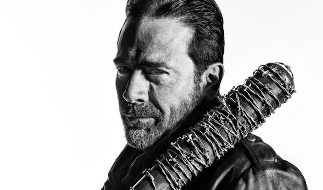 Negan, il personaggio interpretato da Jeffrey Dean Morgan