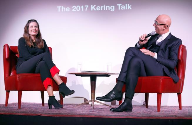 Livia Giuggioli intervistata da  Marco Bizzarri  presso il London College of Fashion