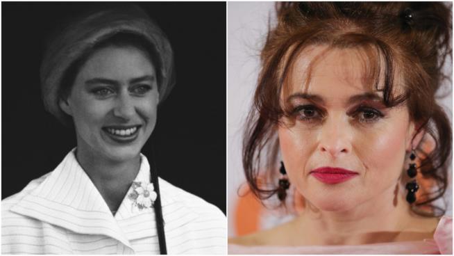 Principessa Margaret ed Helena Bonham Carter
