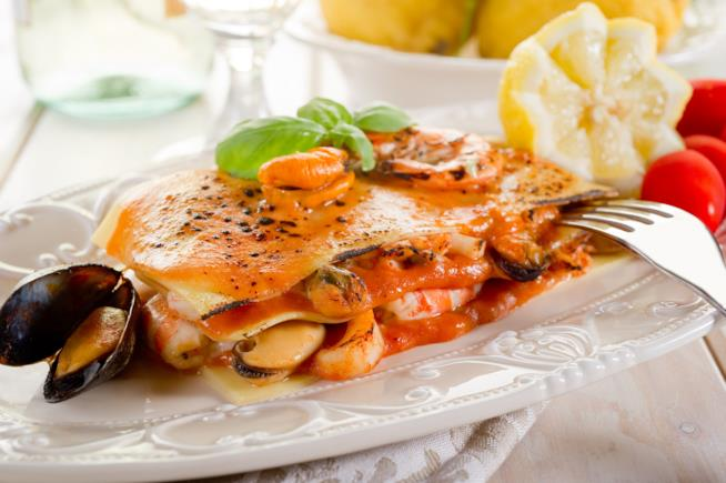 Lasagne di pesce classiche