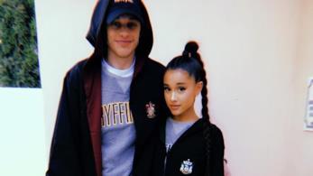 Ariana Grande insieme a Pete Davidson