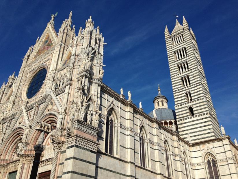 Le affascinanti architetture del Duomo di Siena