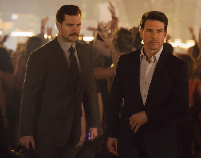 Tom Cruise e Henry Cavill in Mission Impossible - Fallout (ph: Adam Dalton)