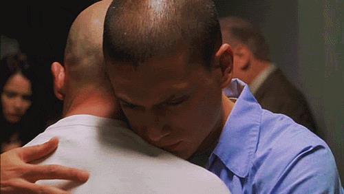 Michael Scofield e Lincoln Burrows in Prison Break