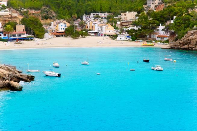 Playa de Cala Vadella, Ibiza