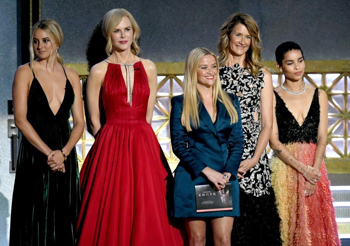 Il cast di Big Little Lies agli Emmy 2017