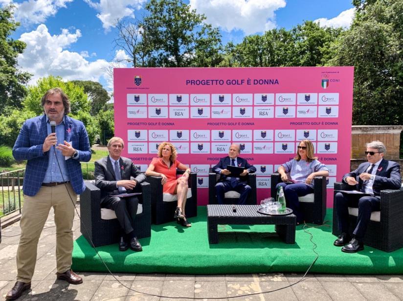 Conferenza stampa 'Golf è donna'