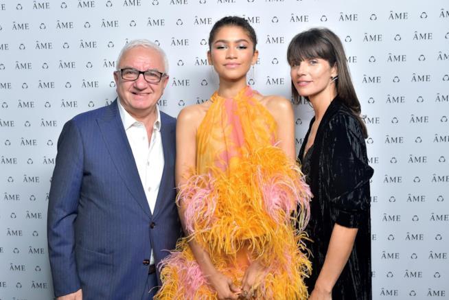 Zendaya in look Marc Jacobs a un evento