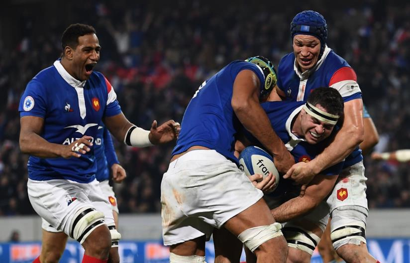 Lacci arcobaleno nazionale rugby