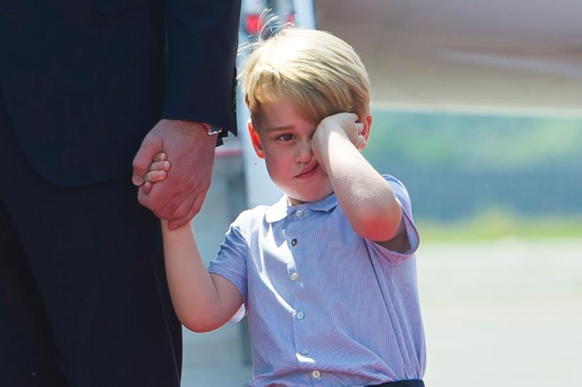 William con il Principe George