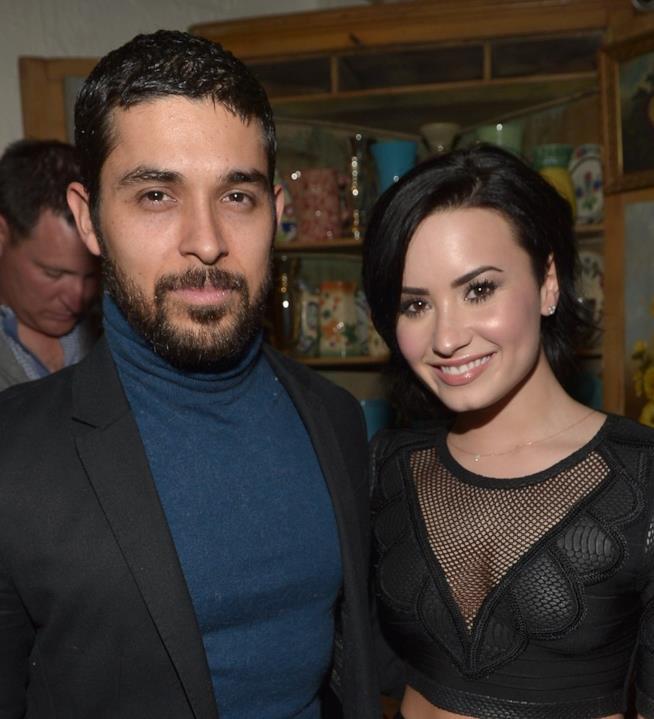 Demi Lovato con Wilmer Valderrama