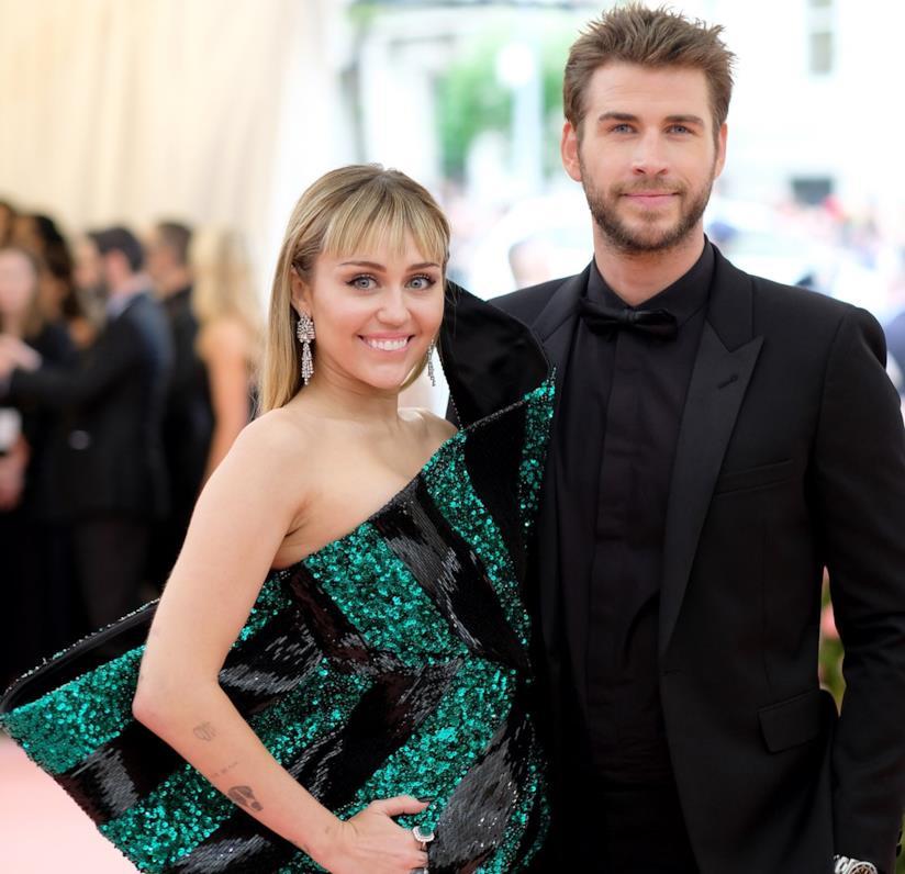 L'ex coppia Miley Cyrus e Liam Hemsworth