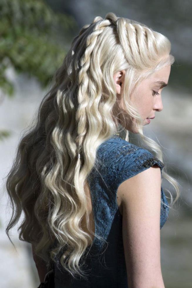 Daenerys Targaryen in primo piano