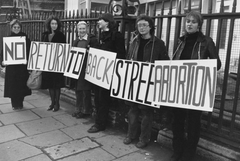 Protesta contro le leggi anti-aborto