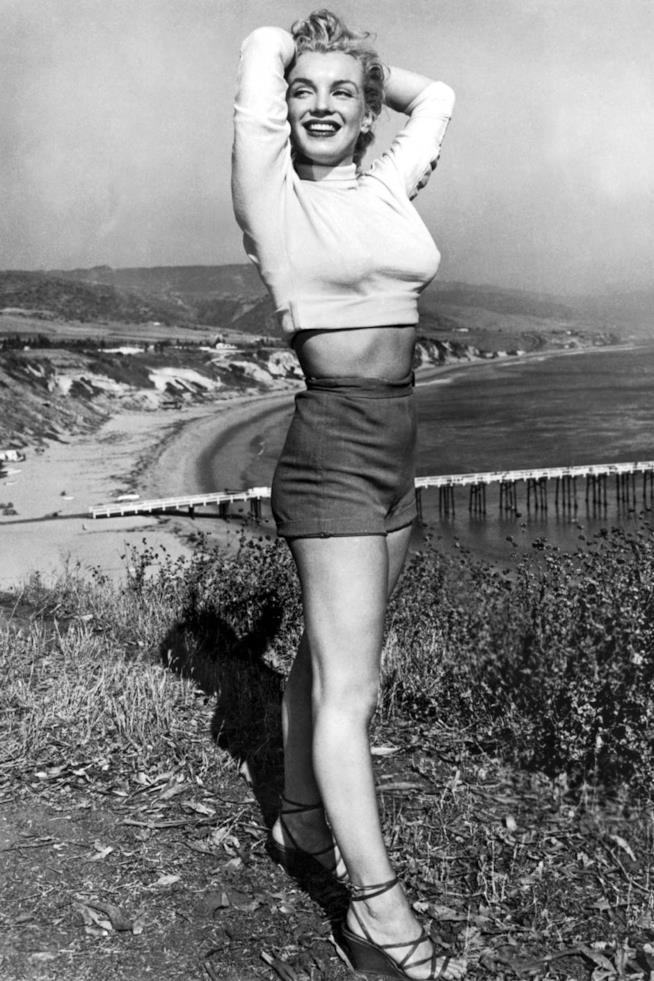 Marilyn Monroe in un'immagine del 1951