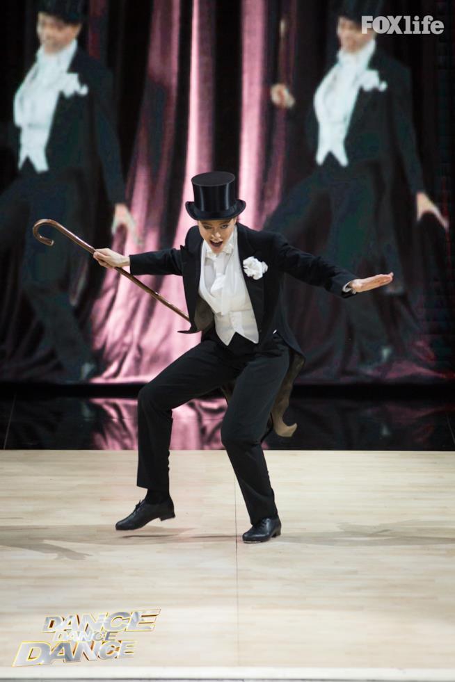 Silvia Provvedi, esibizione singola nella finale di Dance Dance Dance 2