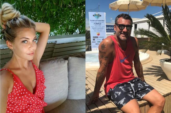 Costanza Caracciolo e Bobo Vieri su Instagram