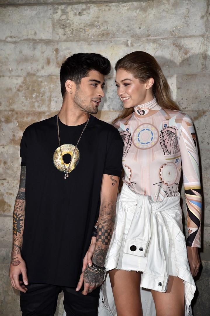 Uno sguardo di intesa tra Zayn Malik e Gigi Hadid