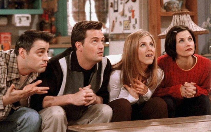 Una scena di Friends