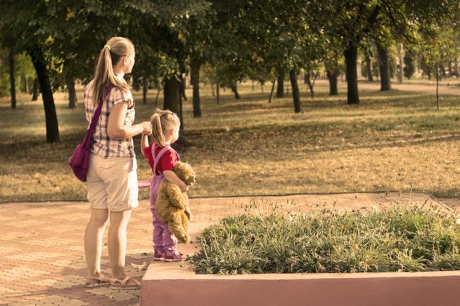 Una passeggiata al parco riduce lo stress da lavoro