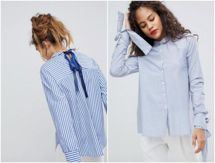 Due camicie Asos con i fiocchi