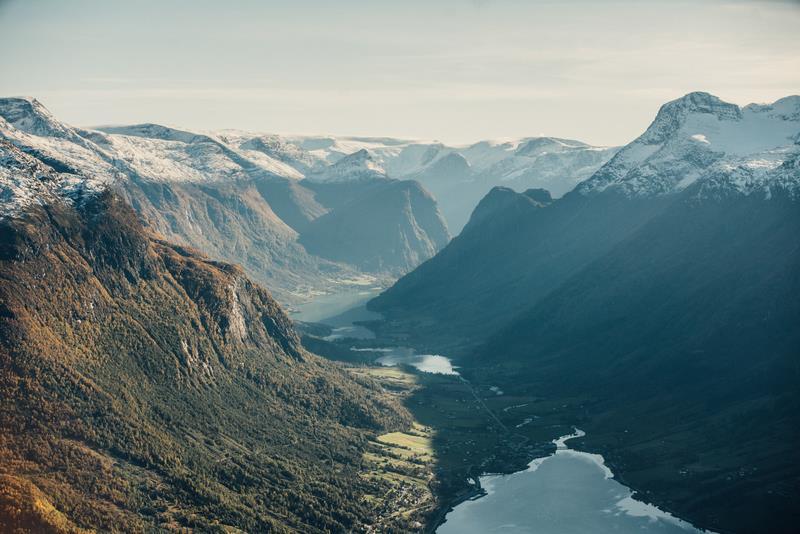 veduta del Nordfjord