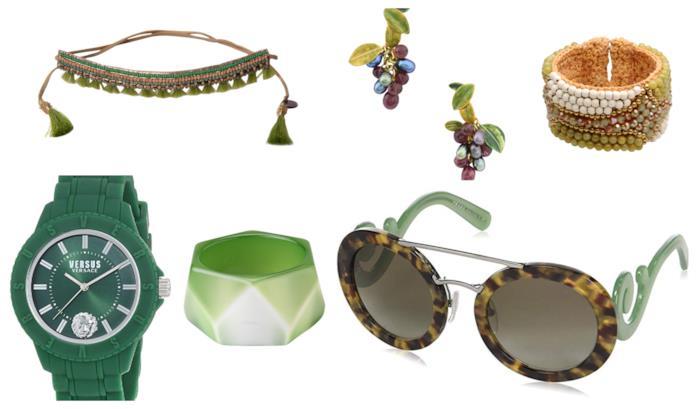 Verde, gli accessori di tendenza per l'autunno inverno 2018-19