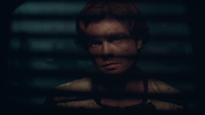 una scena di Solo: A Star Wars Story con Alden Ehrenreich