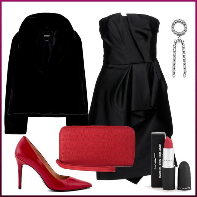 Vestito strutturato